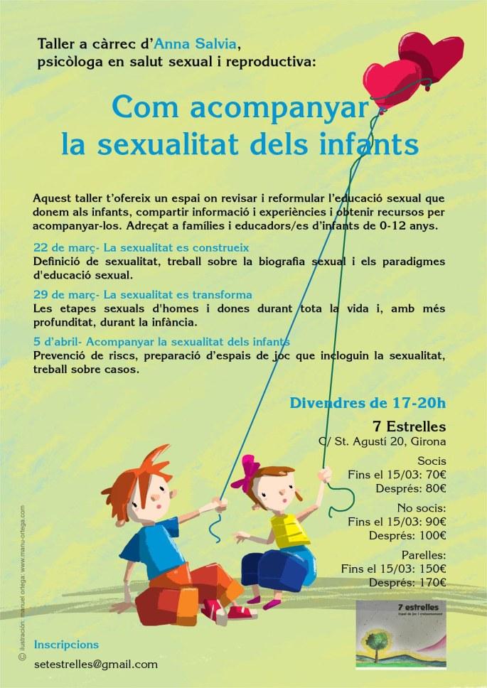 Taller Com acompanyar la sexualitat dels infants 2019
